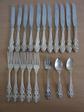 Antique Reed & Barton Elite 19pc Silver Plate Flatware Lot