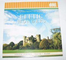 Celtic Wonders Fiddle Harp Flute Traditional Songs Music CD NIP Instrumental