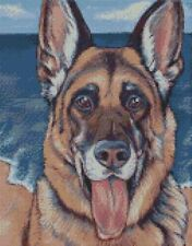 Cross Stitch Kit German Shepherd Dog 1