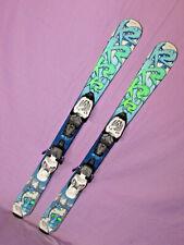 K2 INDY Kid's Skis 100cm Rocker Tip & Tail w Marker 4.5 Demo Adjustable Bindings