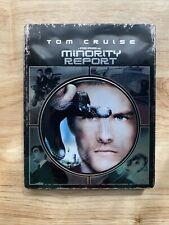 Minority Report - Metalpak / Steelbook (Blu-ray, 2015) No Digital Copy - Rare