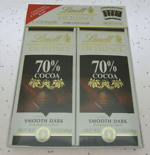 Lindt Excellence 70% Cocoa Smooth Dark Chocolate Bars Candy Bar 4 pack 3.5oz