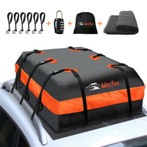 Roof top Bag Cargo Carrier Waterproof 20 Cubic for All Cars with/Without Rack
