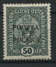 Polen 1919 Fischer Nr 41 * MH krakauer Ausgabe geprüft Jendroszek BPP