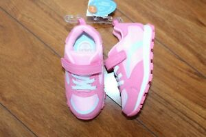 NWT GIRLS CARTERS SZ 7 SHOES PINK