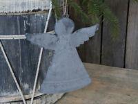 Chic Antique Dekoengel Zink Christbaumhänger H 21cm Weihnachten Advent Nostalgie