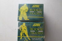 1991 Score NHL Rookie and Traded 110 Player Card Set Factory Sealed Eric Lindros