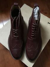 9e871296eb4 J. Shoes-wingtip leather boot