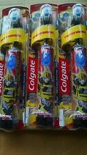 3 PACKS COLGATE TRANSFORMER BATTERY TOOTHBRUSH KIDS EXRA SOFT BLACK