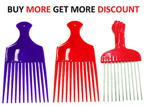 Professional plastic AFRO hair COMB styling/untangling hair african hair - Afro