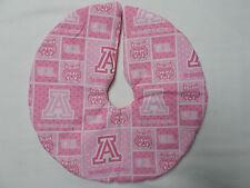 "11"" Christmas Tree Skirt smal mini University of Arizona white pink Ua Desk top"