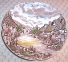 Vintage Johnson Bros. Olde English Countryside Ironstone Saucer~ Made in England