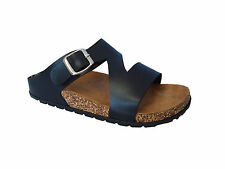 New Ladies' Classic Buckle Sandals Flip Flop Casual Platform Soft Footbed*Revo-3
