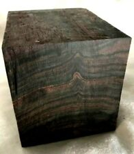 Macassar Ebony Pipemaking Hardwood Smoking Pipes Wood Pipa Smoking Block Wood
