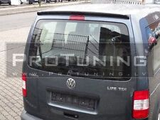 VW CADDY 2K 2003-2011 REAR ROOF TRUNK TAILGATE SPOILER SINGLE DOORS TUNING
