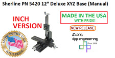 Sherline 5420 Inch Version Of Manual 12 Xyz Base See 5430 For Metric