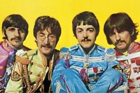 THE BEATLES SGT PEPPERS LONELY HEARTS CLUB BAND POSTER, size 24x36
