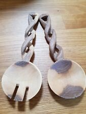 Hand Carved Wooden Spoons Set