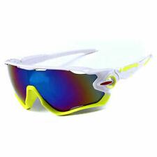 Sunglasses Mountain Bike Cycling Helmet Sun Glasses Biking Yellow White MTB Men