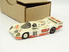 Kit De Inicio Montado SB 1/43 - PORSCHE 956 L La Mans Andial 1984 #61