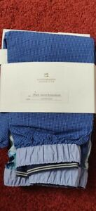 MEN'S Scotch & Soda 2-Pack WOVEN BOXER SHORT Blue Size S NEW