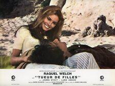 RAQUEL WELCH JAMES STACY TUEUR DE FILLES FLAREUP 1969 VINTAGE LOBBY CARD #3