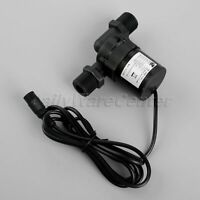 6-12V Hot Water Circulation Pump Brushless Motor DC Pump Wire w Female Interface