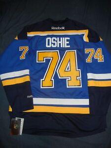 ST LOUIS BLUES Reebok TJ OSHIE Jersey Large Blue NHL Capitals Tarasenko NWT