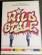 WILD STYLE 30th Anniv Ed Hip-Hop Cold Crush Bros Flash Graffiti Lee Pink New DVD