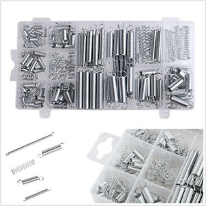 200 Pcs Assortment Car Steel Electrical Hardware Drum Extension Tension Springs
