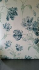 Laura Ashley Wallpaper: GOSFORD MEADOW Duck Egg NEW 3 ROLLS Available
