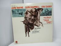 True Grit Motion Picture Score LP Capitol 1970 Glen Campbell Elmer Bernstein
