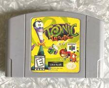 N64 Tonic Trouble Nintendo 64 Cartridge Cleaned & Tested FREE SHIP! Ubisoft VG