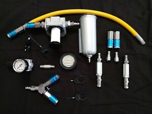 Hookah Diving 2 diver Complete DIY Conversion Kit w/filters from Gator Gill