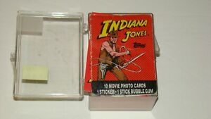 1984 Topps INDIANA JONES TEMPLE OF DOOM Movie Cards COMPLETE SET (Vg. Cond.)