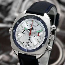 Aviator Kapitán Poljot Chronograph 3133 Russian Analog Military Watch Okean