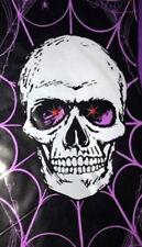 HALLOWEEN party Scene Setter Skeleton LIGHTS UP door/wall 5 ft poster skull
