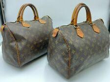 Auth Louis Vuitton Monogram Speedy 30 M41526 Handbag Set 2 pcs AA-2649