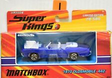 MATCHBOX CLASSIC SUPERKINGS 1970 OLDSMOBILE 442 LIMITED EDITION