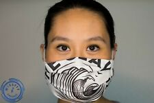 White Claw Seltzer Face Mask, Hand Made, Usa, Washable by MissFitChicago, Unique