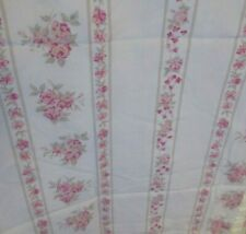 2 Rachel Ashwell Simply Shabby Chic Pink Roses Window Balloon Curtain Panels