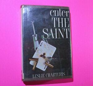 Enter the Saint by Leslie Charteris 1972 First White Lion Edition Vintage HC DJ