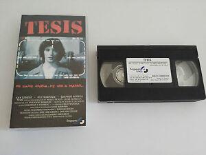 Thesis VHS Sammler Ausgabe Spanisch Eduardo Noriega Fele Martinez