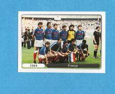 PANINI-EURO 2012-Figurina n.525- SQUADRA/TEAM - FRANCIA 1984 -NEW WHITE BOARD