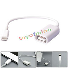8 pin Male to USB Female OTG Adapter Cable For iPhone iPad under ios 10.3 system