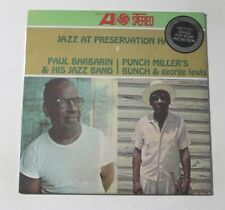PAUL BARBARIN / PUNCH MILLER Jazz At Preservation... LP Atlantic US Sealed M 2F