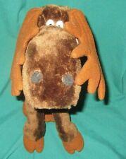 PLUSH TOO LOOSE CHOCOLATE Brown MOOSE 1983 DAKIN