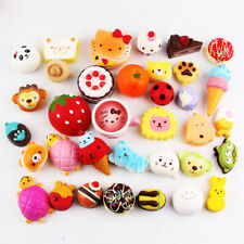 10/15/20 PCS Cute Squishy Jumbo Medium Mini Random Soft Phone Straps Gift Pack