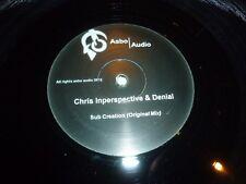 """Chris EDI & creazione di Negazione-sub - 2012 UK 2-TRACK 12"""" VINILE SINGOLO"""