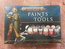 WARHAMMER AGE OF SIGMAR PAINTS AND TOOLS SET - NEW